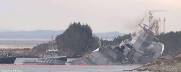 北约战舰演习后与邮轮相撞进水沉没,船上137人撤离资讯生活